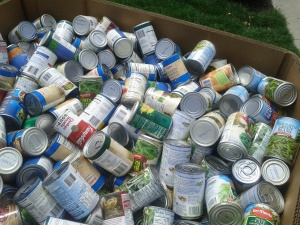 Over 15,000 cans were collected this year, including everything from peanut butter to vegetables.